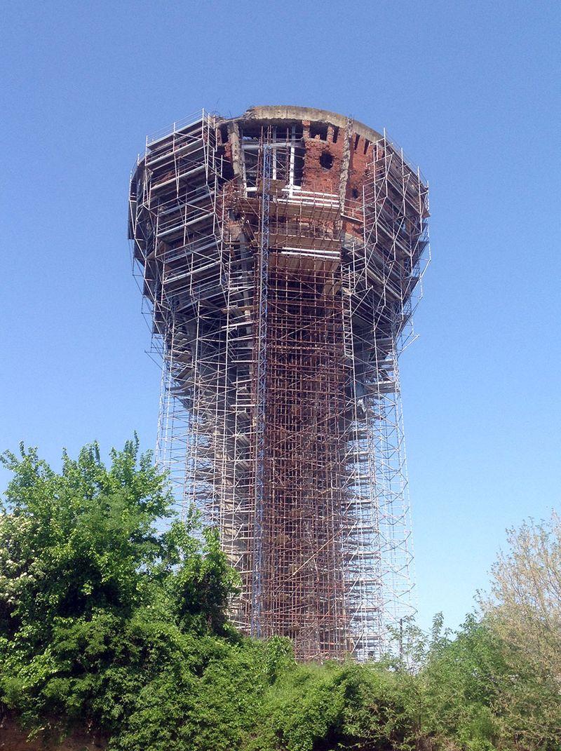 Projekt - Wasserturm in Vukovar