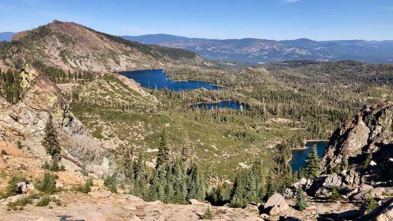 Mt. Elwell and Long Lake