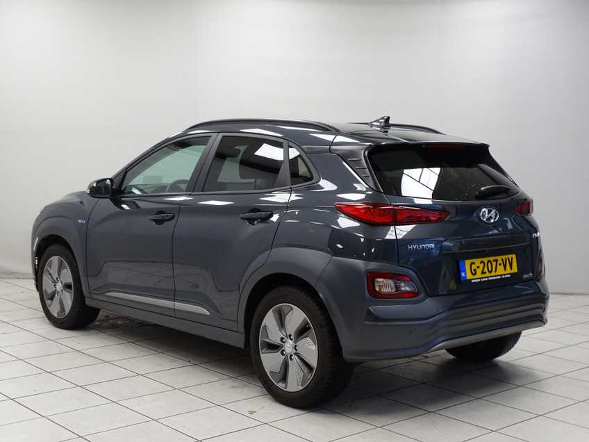 Hyundai Kona EV Premium 64 kWh EX BTW 4% Leder Navigatie Clima Cruise Camera HUD  460 KM op 1 Lading! afbeelding 8