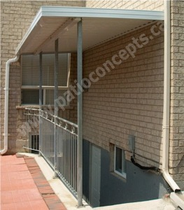 W-Pan Stairwell Awning