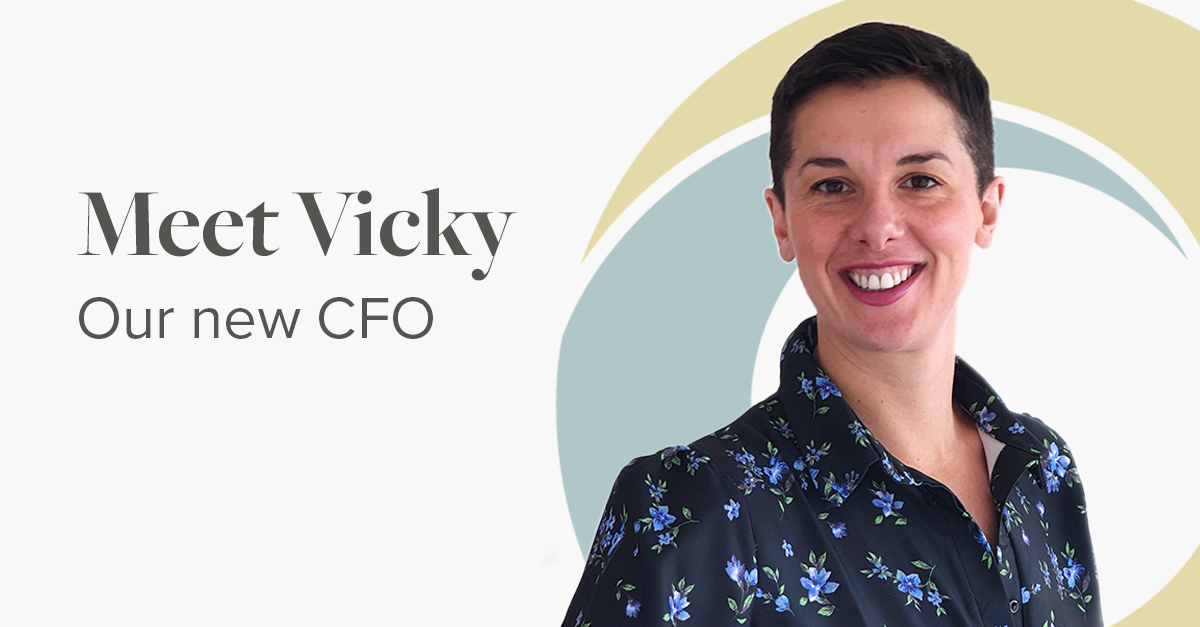 Meet Vicky Our New CFO