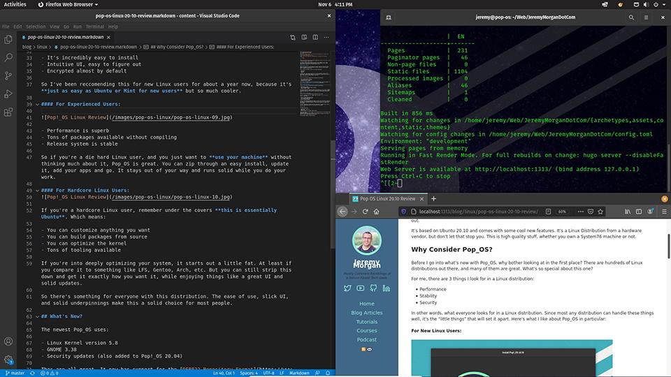 Pop!_OS Linux Review