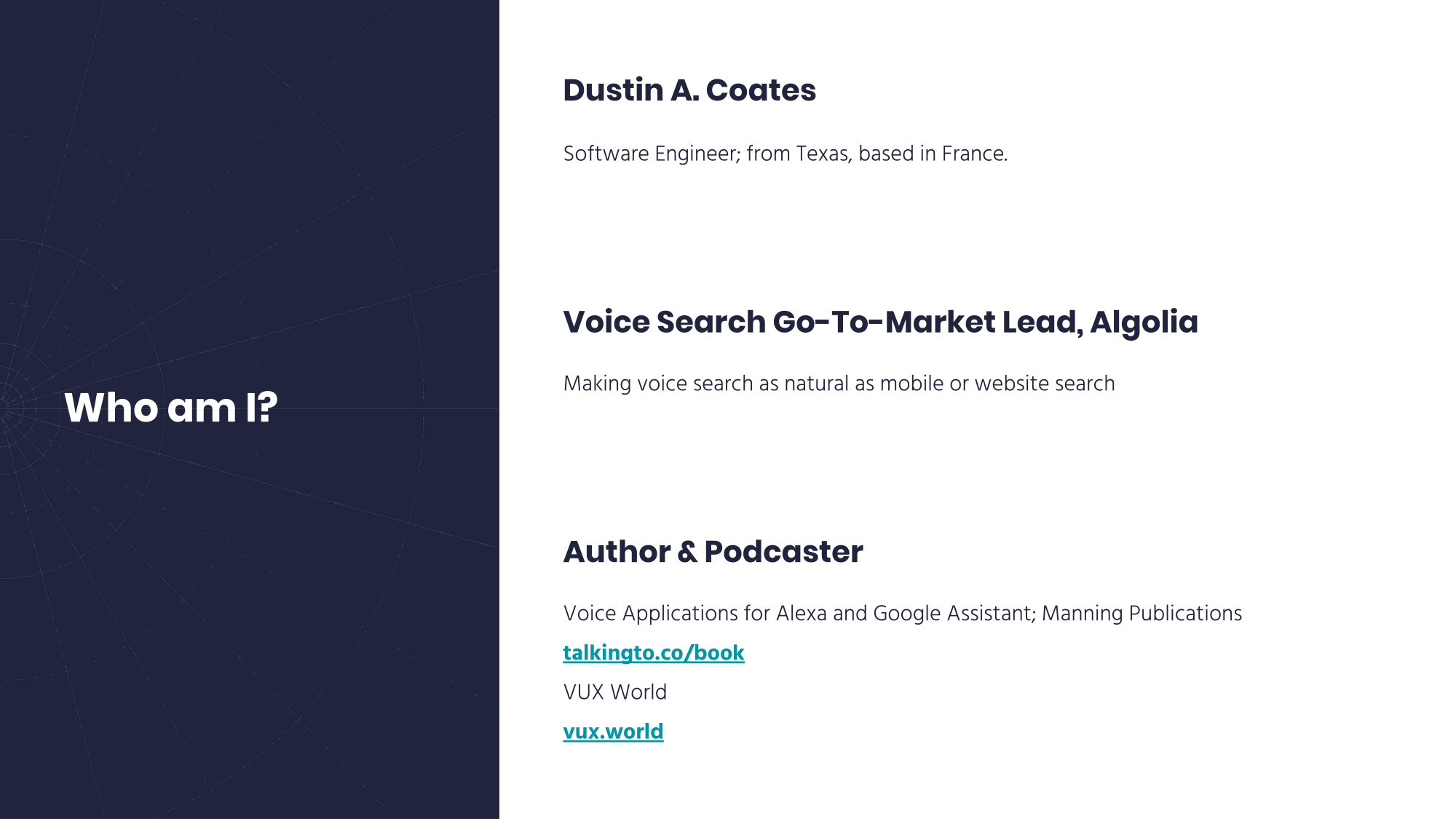 Talking to Computers | Voice Search for Mobile, Voice-First