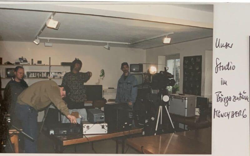 Medienraum Anfang der 2000er