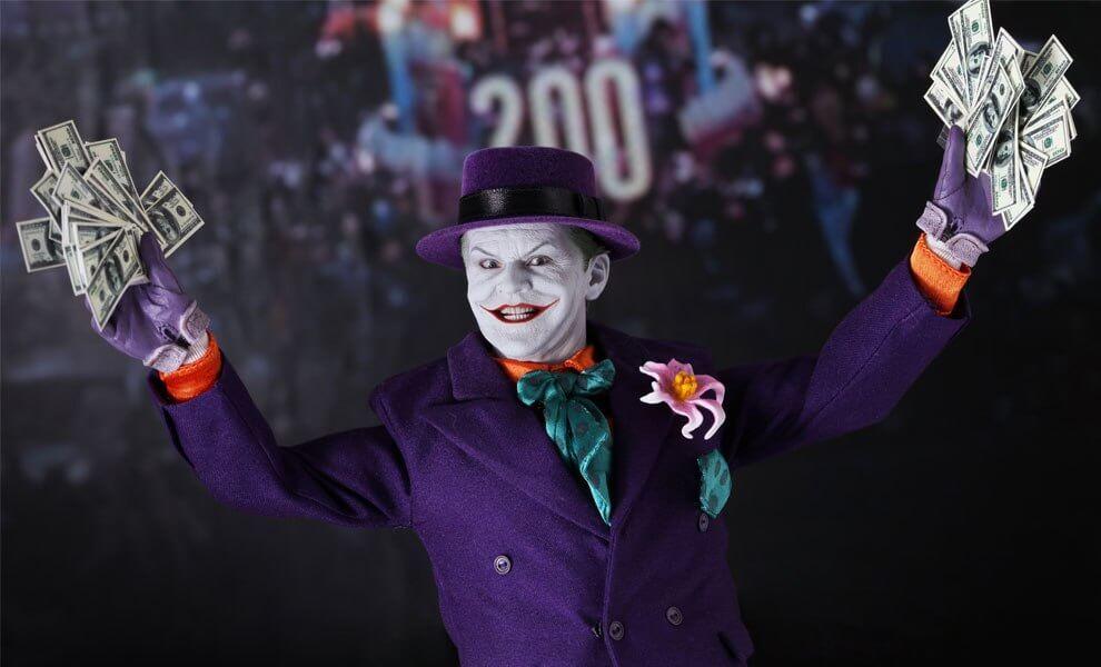 Hot Toys Batman (1989 Version) DX08 The Joker 1/6th Scale Collectible Figure