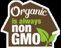 Organic is always non GMO