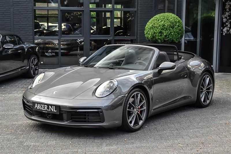 Porsche 911 S CABRIO SPORT CHRONO+SP.UITLAAT+ACC NP.203K afbeelding 24