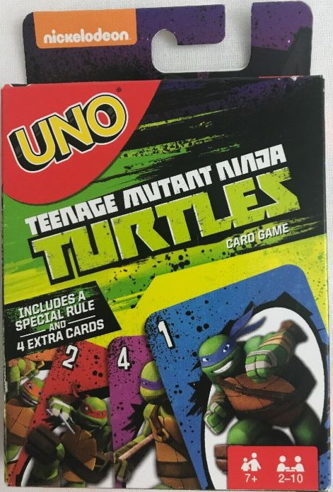 Teenage Mutant Ninja Turtles Uno (Team Attack) (2014)