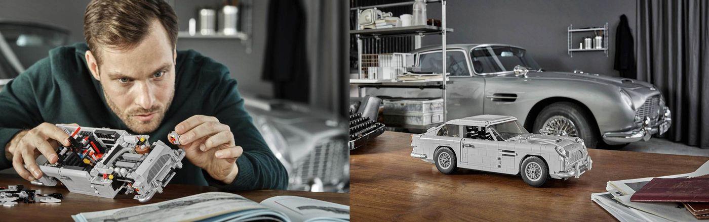 Aston Martin x Lego James Bond