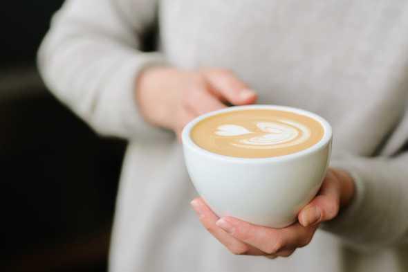 koffie met hartje