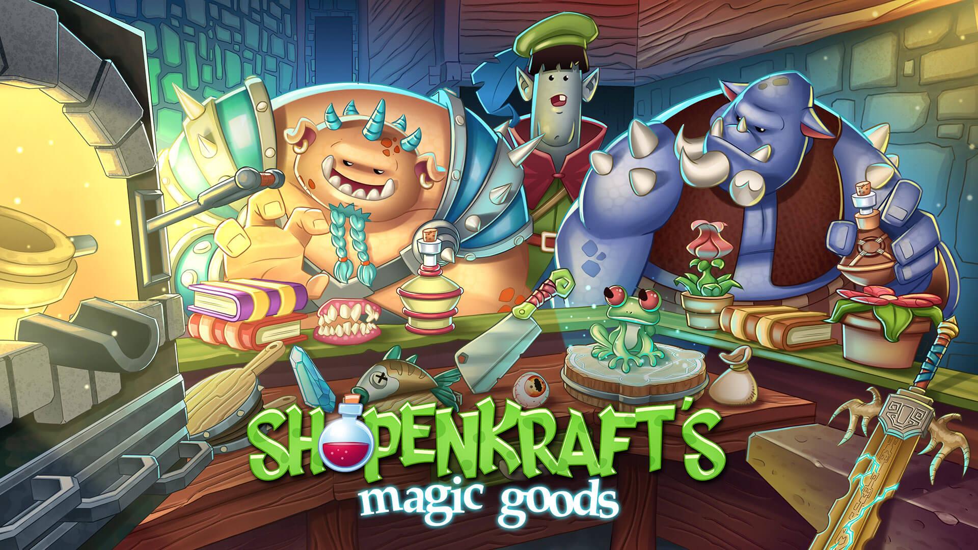 Shopenkrafts magic goods Game