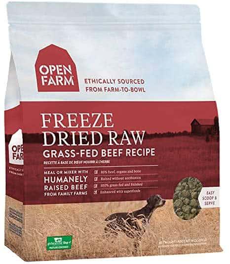 Open Farm Freeze Dried Food