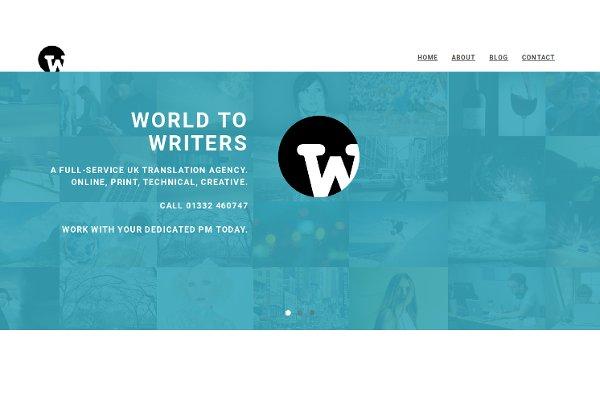 A translation service agency site