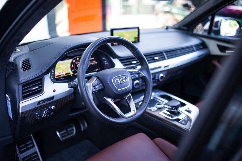 Audi SQ7 4.0 TDI Quattro 7p *4 Wielbesturing / Pano / B&O Advanced / Stad & Tour Pakket* afbeelding 7