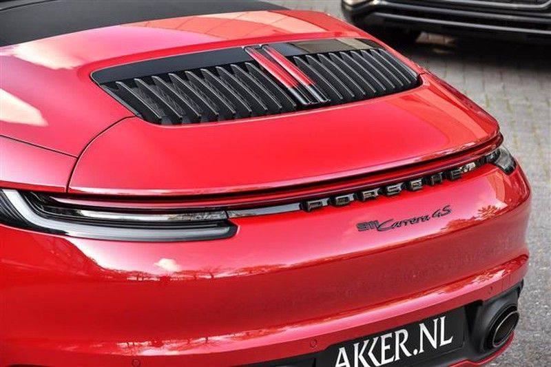 Porsche 911 4S CABRIO 4WSTURING+ST.KOELING+SP.CHRONO NP.218K afbeelding 17
