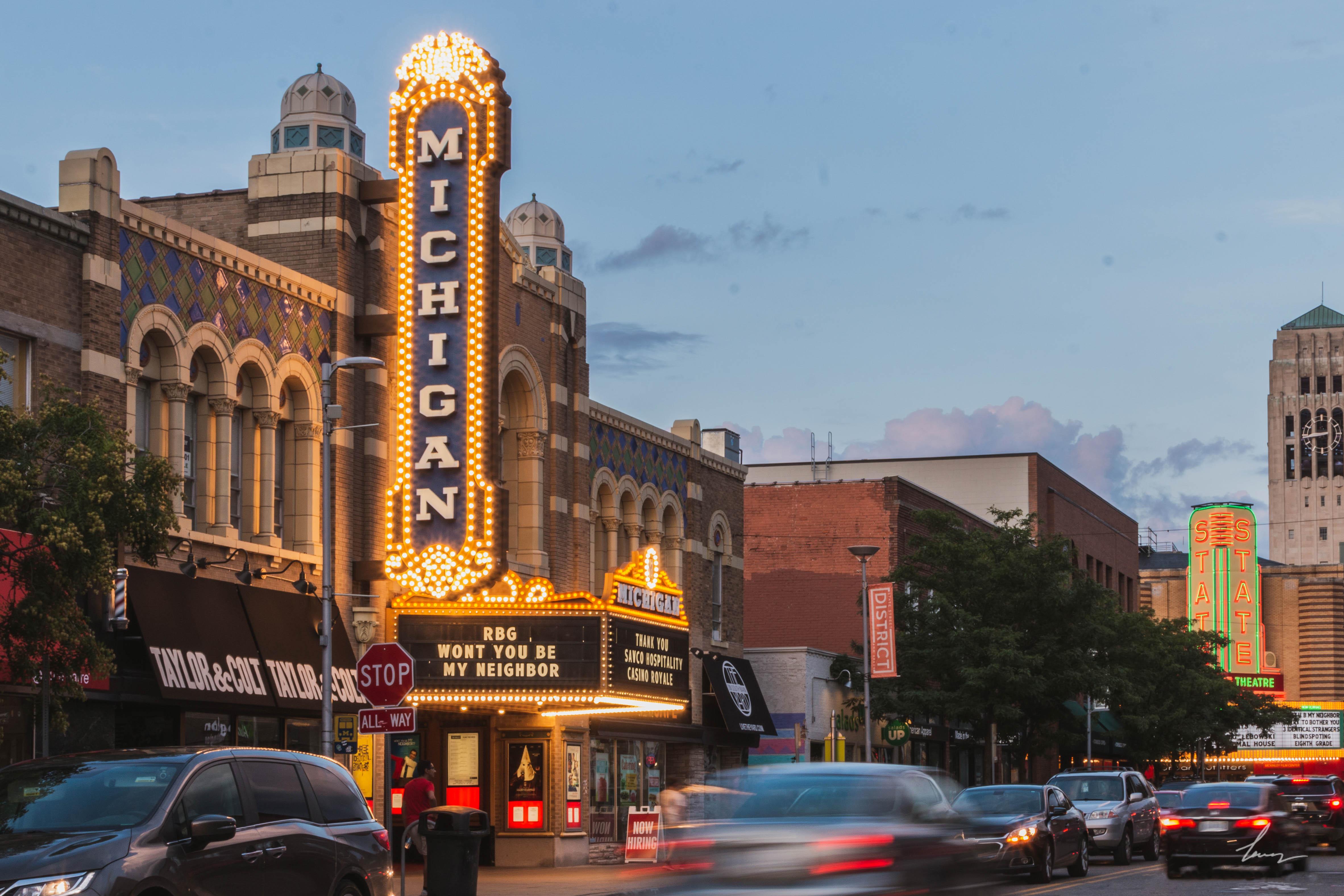 The State Theatre - Ann Arbor, Michigan