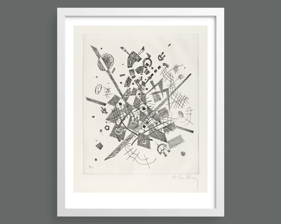 Small Worlds IX (Kleine Welten IX) by Vasily Kandinsky