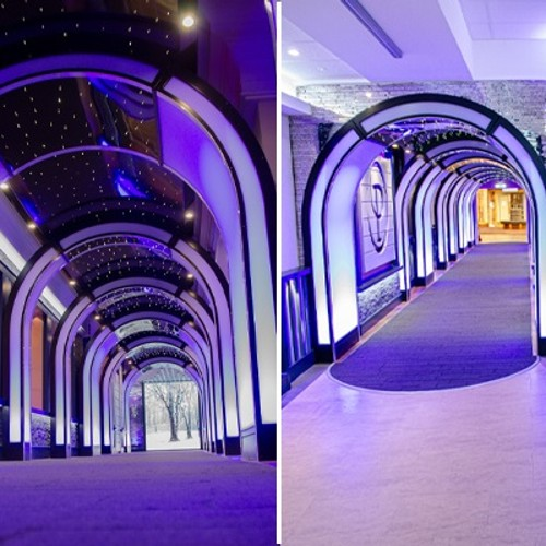 Marvel at the 'Tunnel of Lights'