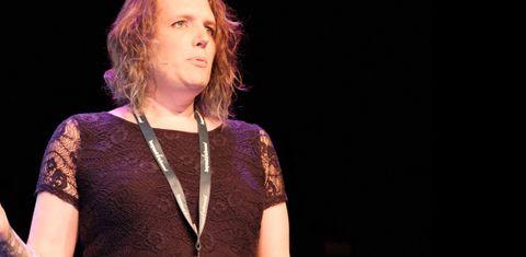 Miriam presenting