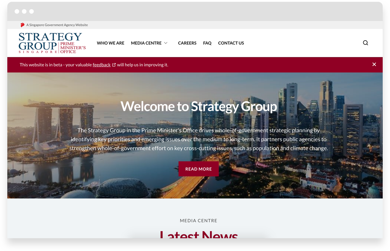 Strategy Group Singapore