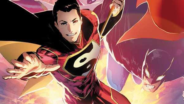 superman chines Kong Kenan voando