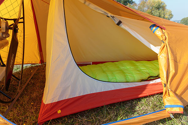 Paramotor tent – discover freedom