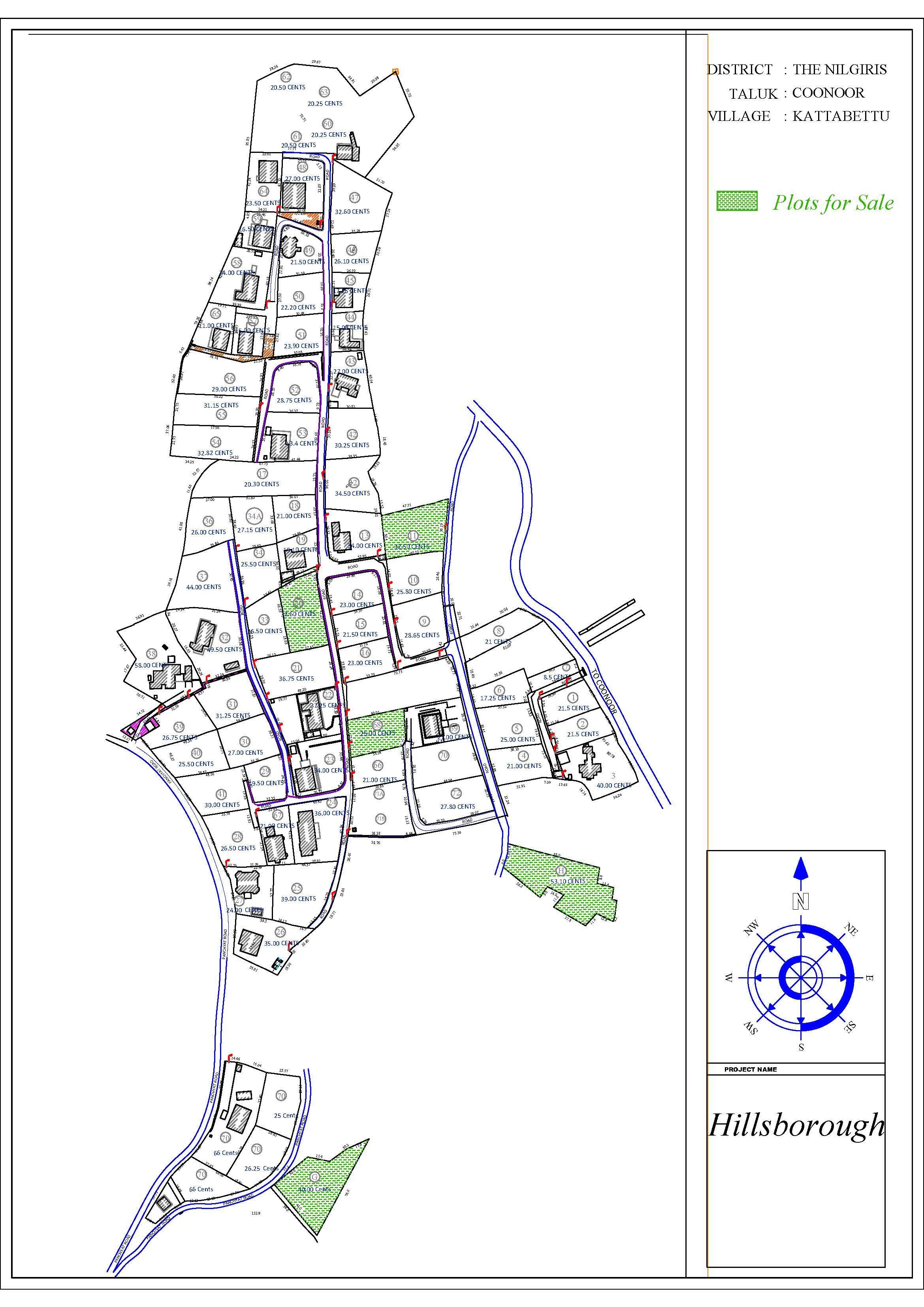 Hillsborough Layout Plan