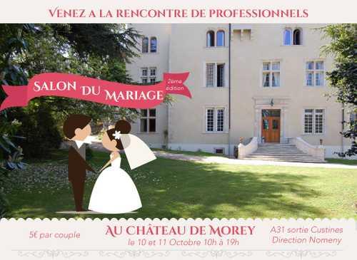 Salon du Mariage au Château de Morey