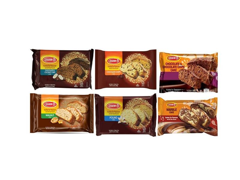 Osem Kosher for Passover Loaf Cakes (249g)