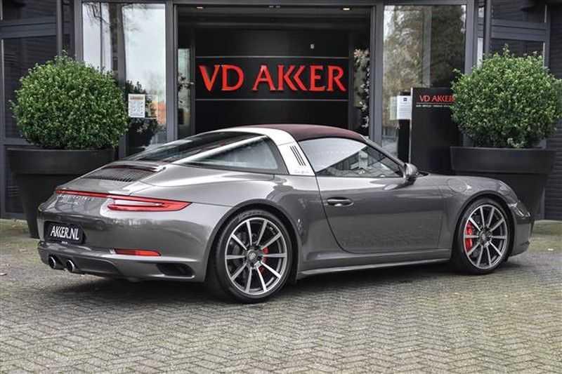 Porsche 911 TARGA 4S SPORT CHRONO+4WSTURING NP.201K afbeelding 22