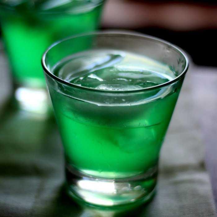 Gideon's Green Dinosaur Cocktail