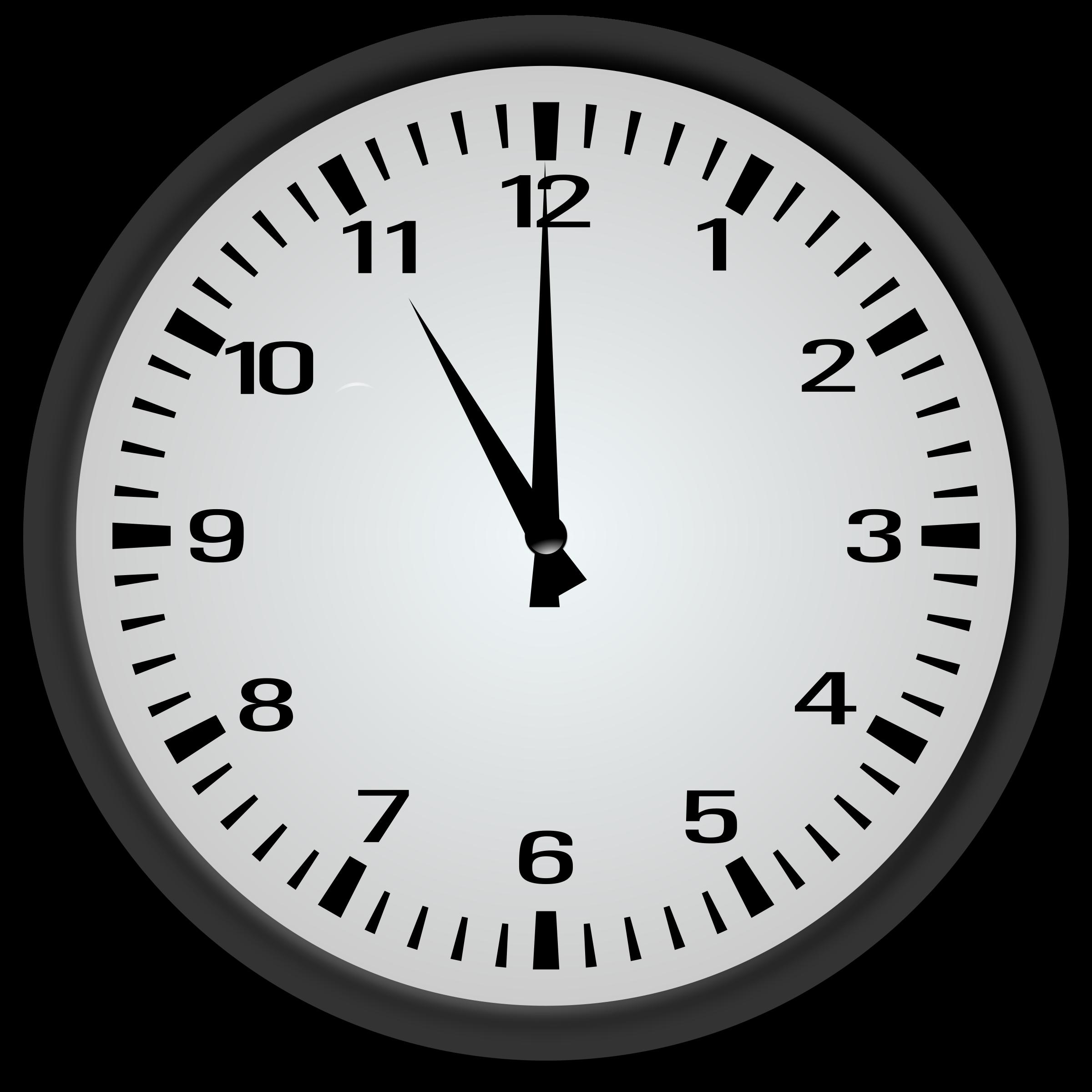 11 o'clock, tick tock