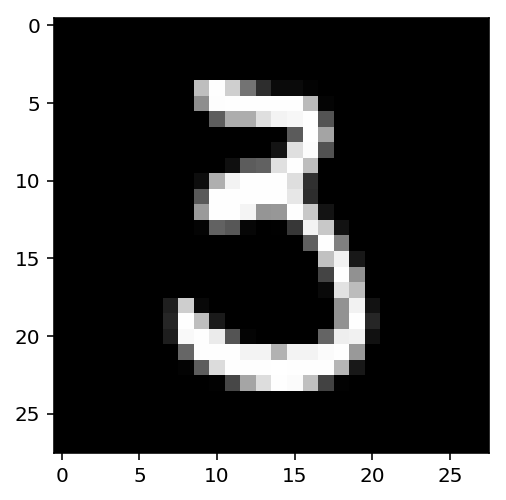 a picture of another 3 in MNIST
