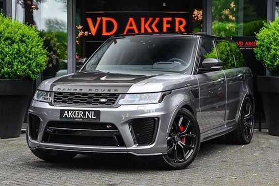 Land Rover Range Rover Sport 5.0 SVR CARBON+PANO.DAK+ACC+HEADUP NP.250K