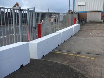 Concrete Traffic Management Barriers