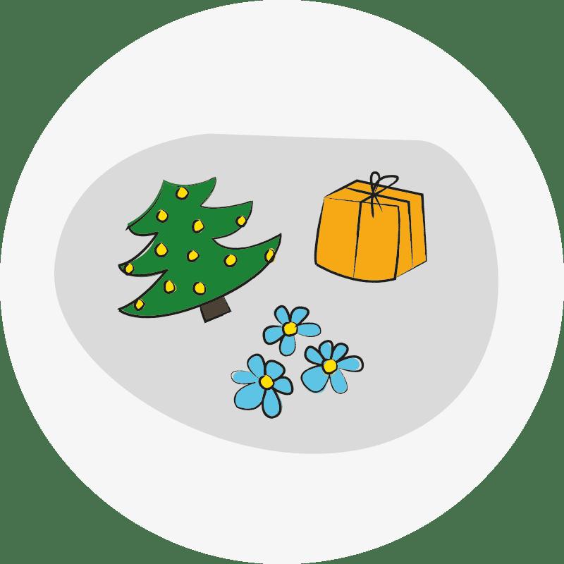 Bild eines Geschenks