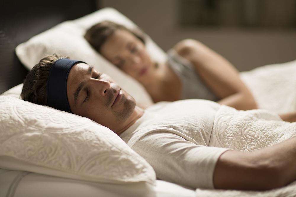 Man wearing Sleepphones