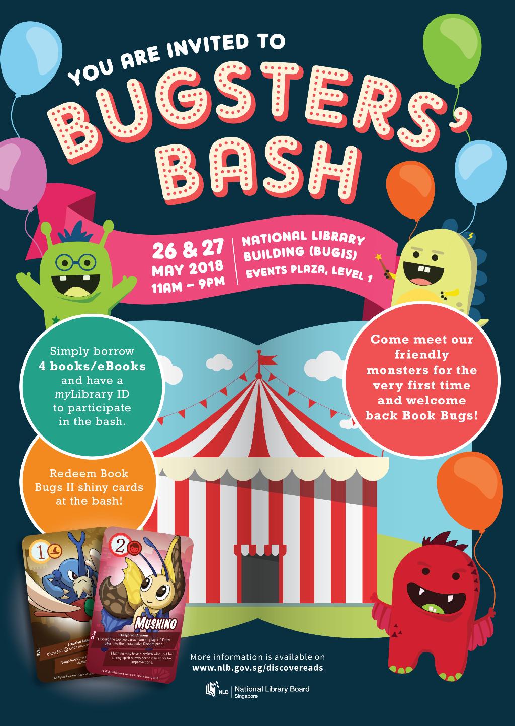 Bookbugs launch poster