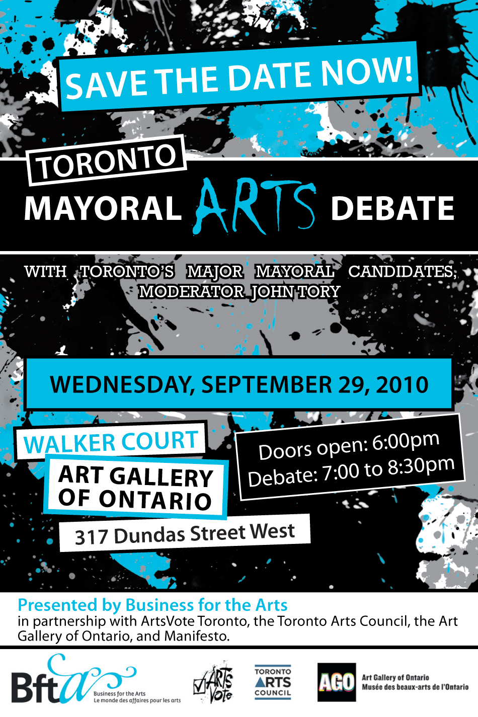 Mayoral Arts Debate