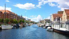 The canals of Copenhagen
