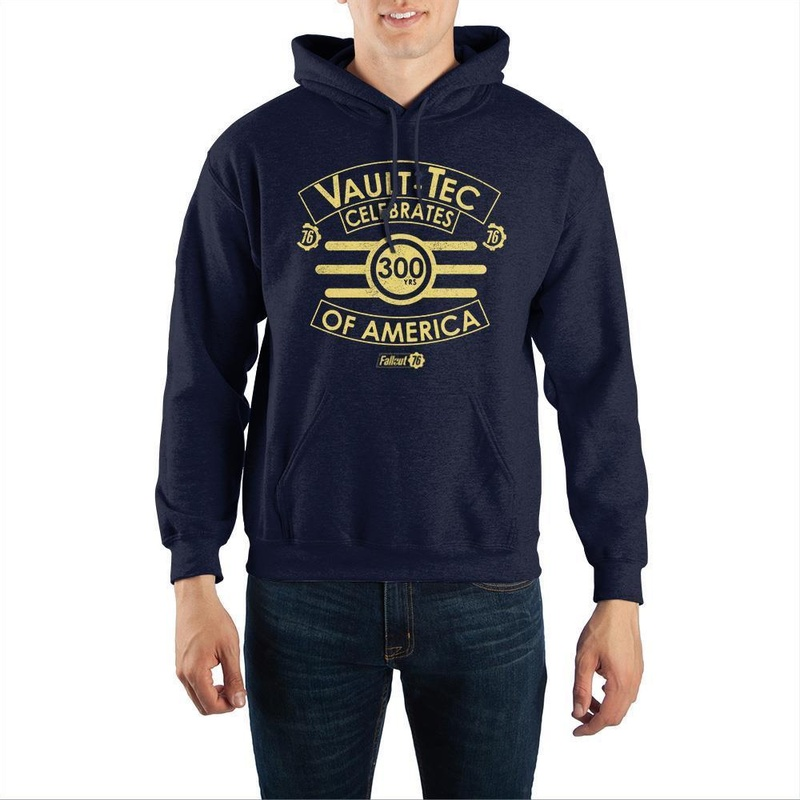 Fallout 76 Vault-Tec Celebrates 300 Years of America Hooded Sweatshirt