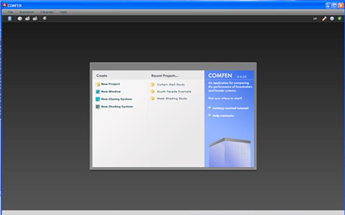 COMFEN application screencapture