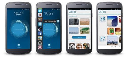 Ubuntu OS for Phones