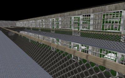 WebGL scene for Evasion