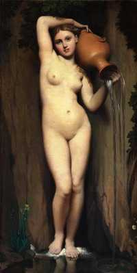 The Source (1856) by Ingres, Musée d'Orsay, Paris