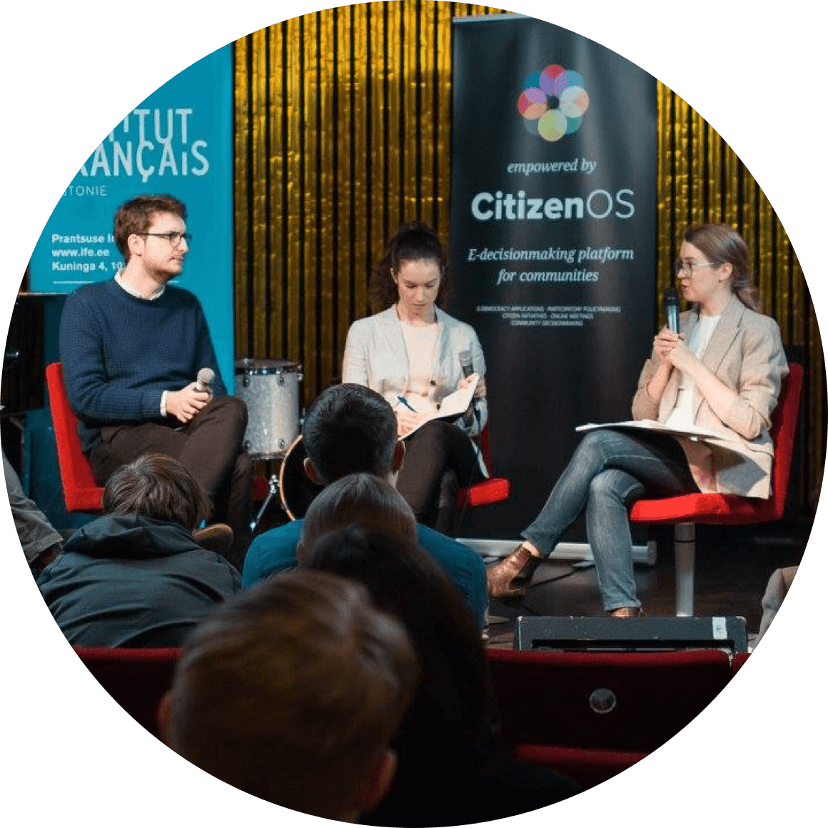 Citizen OS's first COSCON conference, which brought together e-democracy researchers from around the world.