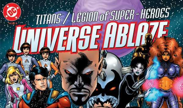 Titãs e Legião em universo incandescente