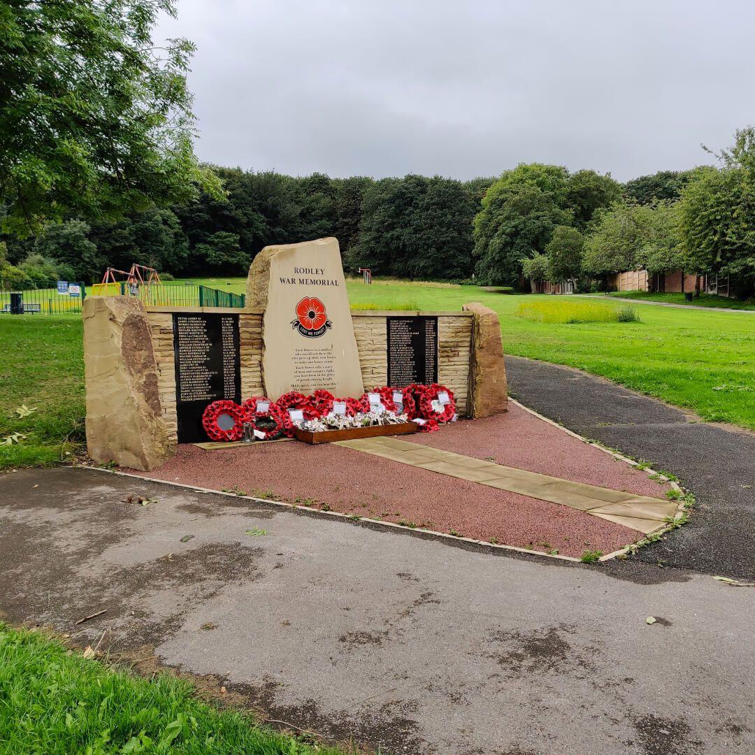 Rodley Park memorial