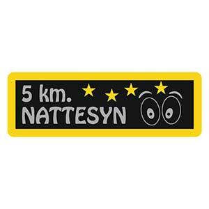 5km Nattesyn spejdermærke