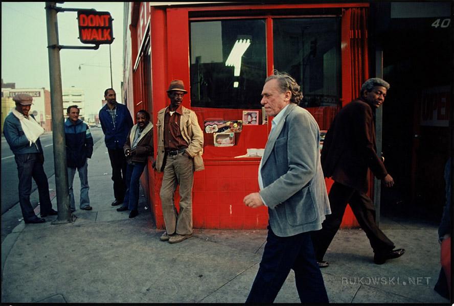 Буковски вЛос-Анджелесе, 1982. Источник: bukowski.net